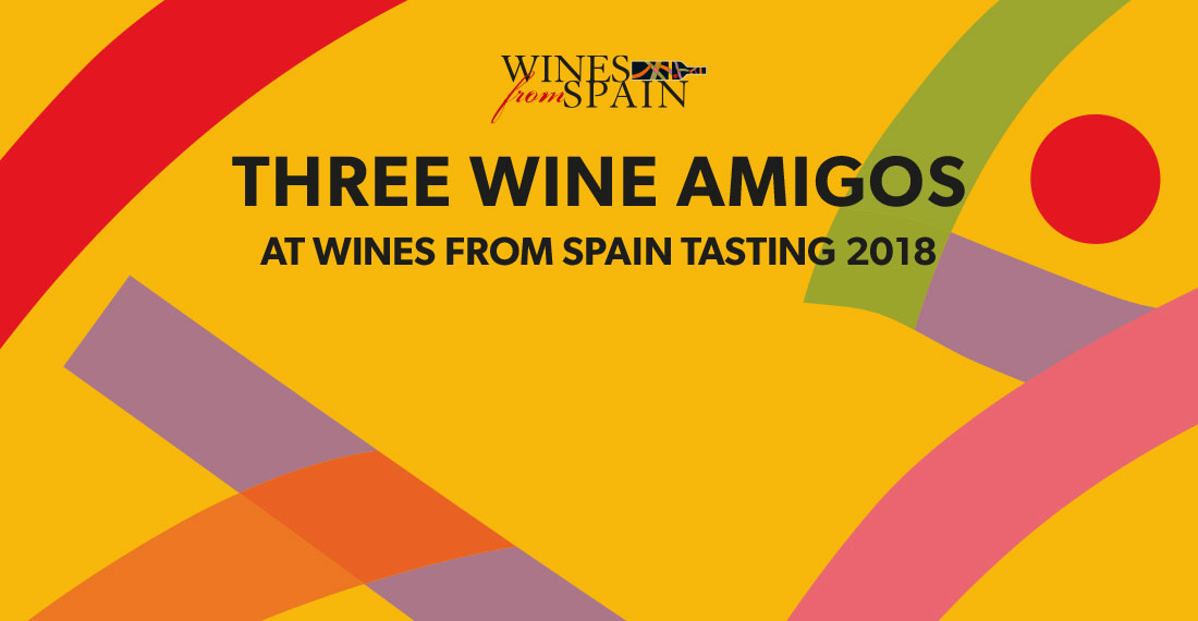 Three Wine Amigos with Wines from Spain
