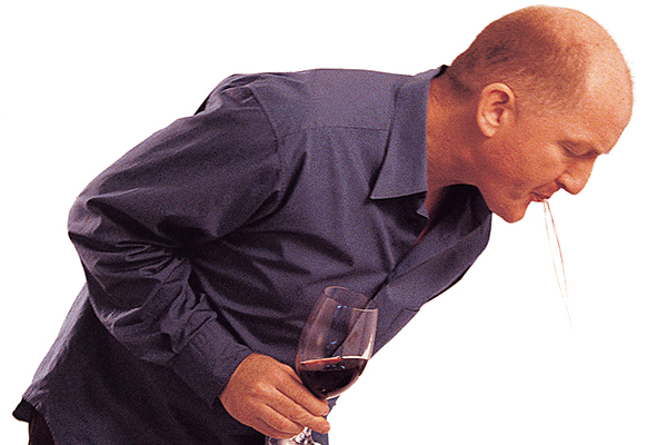 Wine tasting with Oz Clarke